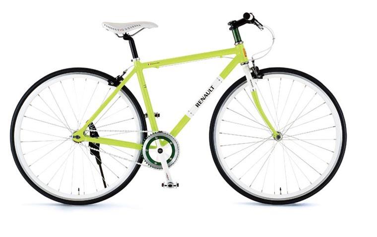 RENAULT(ルノー) 自転車 700C CRB700C Single グリーン 【タウンバイク】