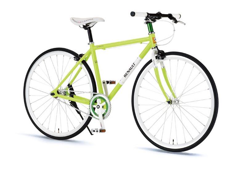 RENAULT(ルノー) 折り畳み自転車 700C CRB700C Single グリーン 【タウンバイク】