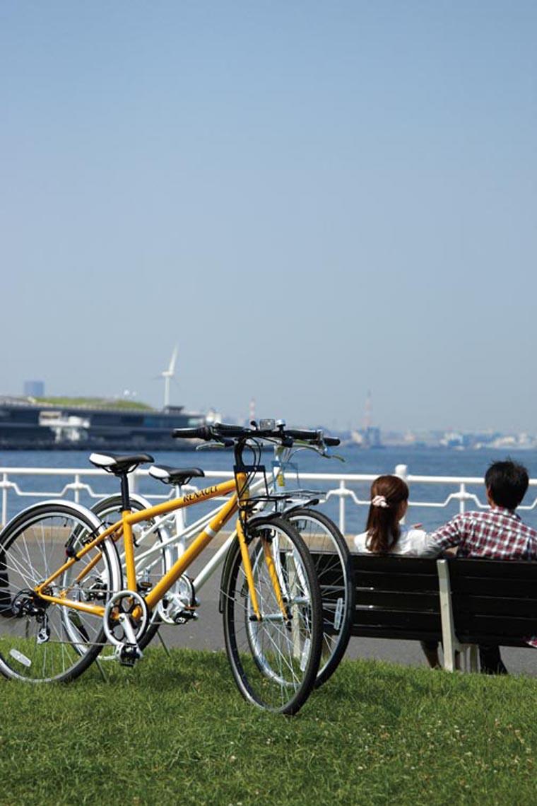 RENAULT(ルノー)自転車 700C CRB7006 オレンジ 【フロントキャリアー クロスバイク】