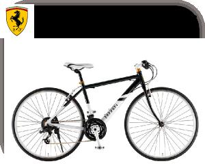 Ferrari(フェラーリ) 自転車 700C CR-D 7021 ブラックの商品説明-Tire size-700-28C Gear-21steps Weight-12.6kg